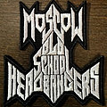 Moscow Old School Headbangers patch