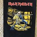 Iron Maiden woven backpatch