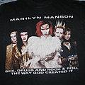 Marilyn Manson - TShirt or Longsleeve - Marilyn Manson - Euro Tour