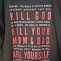 Marilyn Manson - TShirt or Longsleeve - Marilyn Manson - Kill God