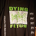Dying Fetus - TShirt or Longsleeve - Dying Fetus - Infatuation With Malevolence