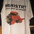 Ministry - TShirt or Longsleeve - Ministry - Jesus Built My Hotrod