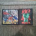 Patch - Iron Maiden and Slayer Patches