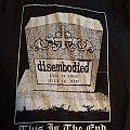 Disembodied-Final Show shirt