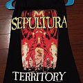 Sepultura-War for territory shirt