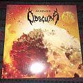Obscura - Tape / Vinyl / CD / Recording etc - Obscura - Akróasis vinyl, White Bone/Orange Merge