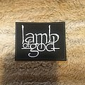 Lamb Of God - Patch - Lamb of God Logo Patch