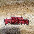 Alien Weaponry - Patch - Alien Weaponry Patch