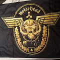 Motorhead Golden Snaggletooth Flag Other Collectable