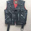 None - Battle Jacket - Petroff Sleeveless Leather Jacket