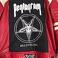 Pentagram - Battle Jacket - Red Leather