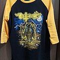 Deathhammer - TShirt or Longsleeve - Deathhamer-Evil power baseball shirt