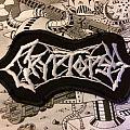 Cryptopsy logo patch