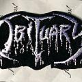 Obituary logo patch