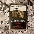 Obeisance - Appetite for Desecration (Gold Cassette) Tape / Vinyl / CD / Recording etc