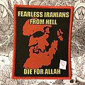 Fearless Iranians From Hell - Die For Allah patch