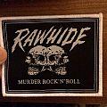 Rawhide - Murder Rock'N'Roll patch
