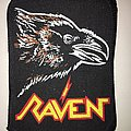 printed patch raven