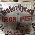 tres tres rare flag motorhead iron fist tour 1982 Other Collectable