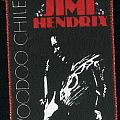 jimi hendrix printed patch voodoo chile