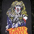 printed patch  Twisted Sister