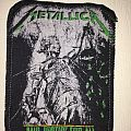 printed patch metallica