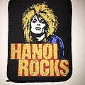 printed patch  Hanoi Rocks