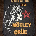 rare printed patch Mötley Crüe