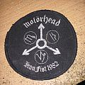patch motorhead  iron fist 1982