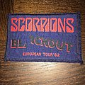 patch  Scorpions   european tour 82