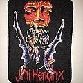 Jimi Hendrix - Patch - rare patch printed jimi hendrix