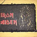 printed patch rare iron maiden