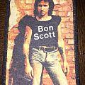 printed patch  bon scott