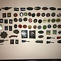 mise a jour de ma collection de badge motorhead