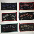 Motörhead - Patch - motorhead  collection mini strip patch over kill
