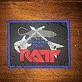 Ratt - Patch - patch ratt bordure bleu