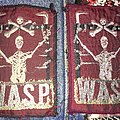 2 rare Patch WASP W.A.S.P
