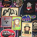 tres rare collection de patch slade