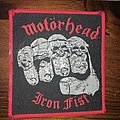 patch motorhead iron fist
