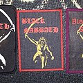 3 rare patch black sabbath