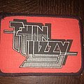 rare printed patch Thin Lizzy