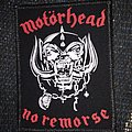 patch printed de motorhead  no remorse
