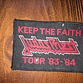 patch judas priest keep the faith tour 83/84