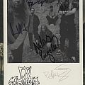 In Flames Autograph Card Other Collectable