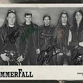 Hammerfall Autograph Card Other Collectable