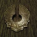 London metal pin