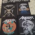 Anthrax - Patch - 5 Anthrax Patches