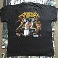 Anthrax - Among The Living Tour Phase 2 OG TS 1987  TShirt or Longsleeve