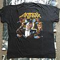 Anthrax - Among The Living Tour Phase 2 OG TS 1987  TShirt or Longsleeve