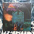 Dark Angel - Darkness Descends LP (Brazilian press) Tape / Vinyl / CD / Recording etc